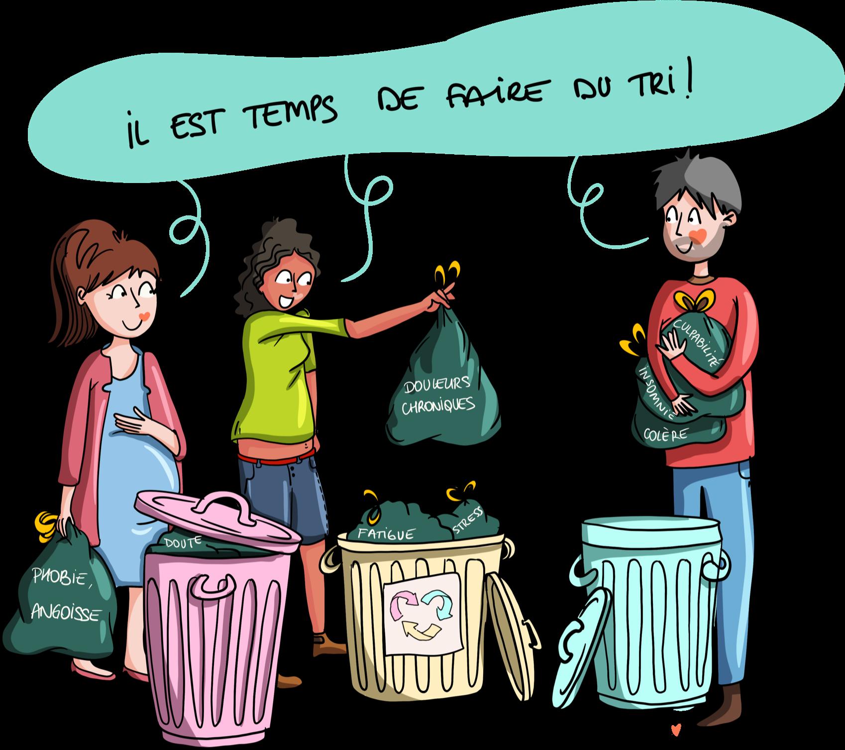 La recycle positive